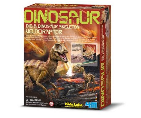 Dig A Dinosaur Skeleton Velociraptor