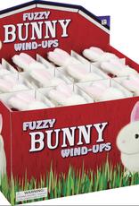 Toysmith Fuzzy Bunny Wind Up