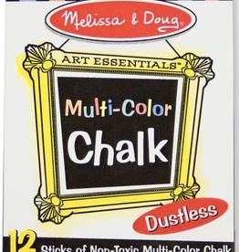 Melissa & Doug Multi-Colored Chalk (12 pk)