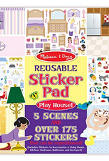 Melissa & Doug Reusable Sticker Pad-Play House
