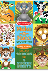 Melissa & Doug Make a Face- Crazy Animals