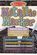 Melissa & Doug Metallic Marker Trace & Color Pad