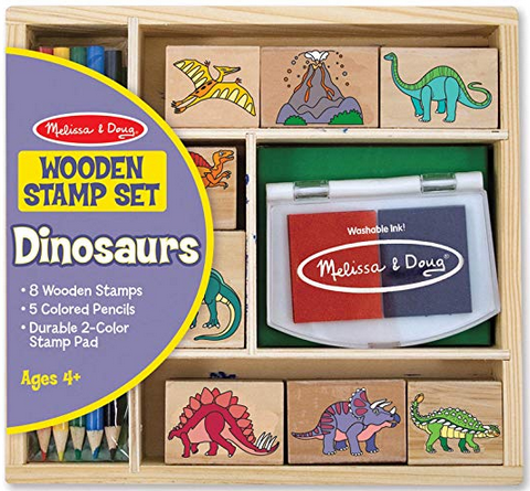 Melissa & Doug Stamp Set- Dinosaur