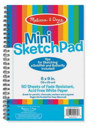 "Melissa & Doug Mini-Sketch Pad (6""x 9"")"