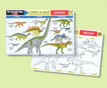 Melissa & Doug Dinosaurs Learning Mat