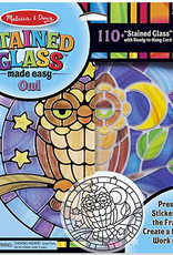 Melissa & Doug STAINED GLASS OWL