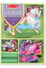 Melissa & Doug Magnetic Dress Up-My Horse Clover