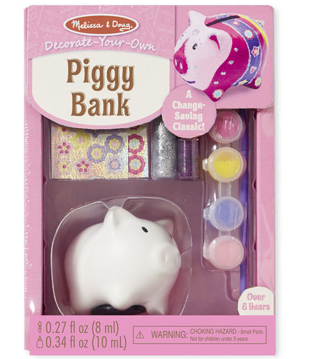 Melissa & Doug DYO - Piggy Bank