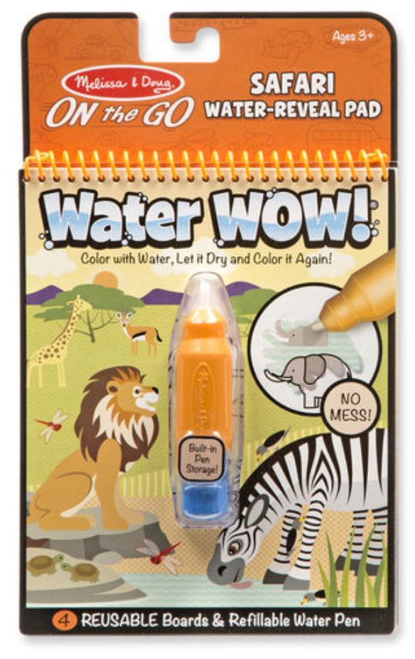 Melissa & Doug WATERWOW! - SAFARI WATER REVEAL
