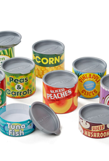 Melissa & Doug Let's Play House-Grocery Cans