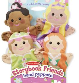 Melissa & Doug STORYBROOK FRIENDS HAND PUPPETS