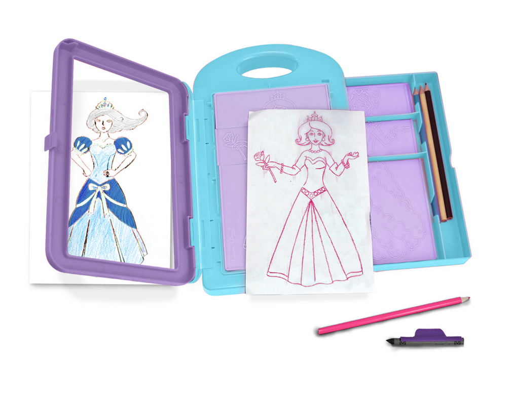 Melissa & Doug PRINCESS DESIGN ACTIVITY