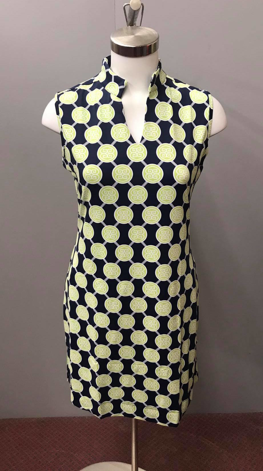 LuLu B. Sleeveless Key Hole Dress