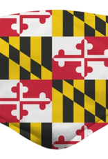 Maryland Flag Pattern / Face Mask