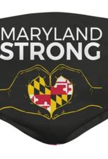 Maryland Strong (BLACK) / Face Mask