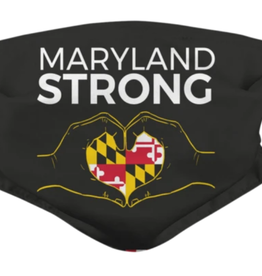 Maryland Strong (BLACK) / Face Mask