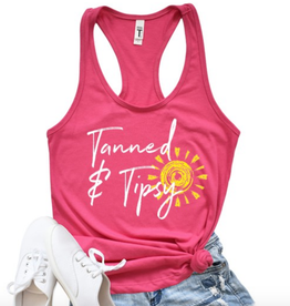 Wildberry Waves Tanned & Tipsy Tank