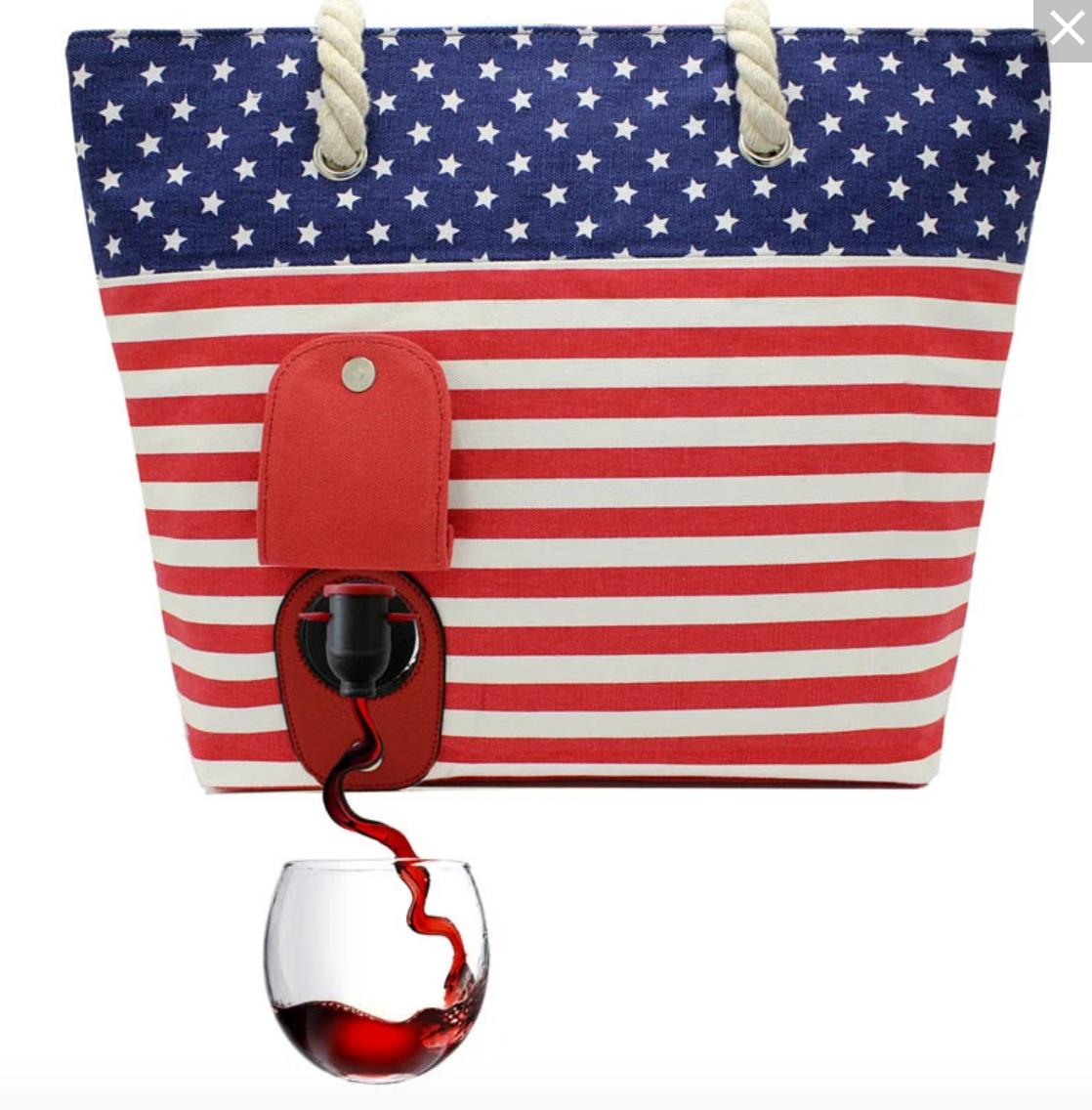 Porto Vino Canvas Wine Bag
