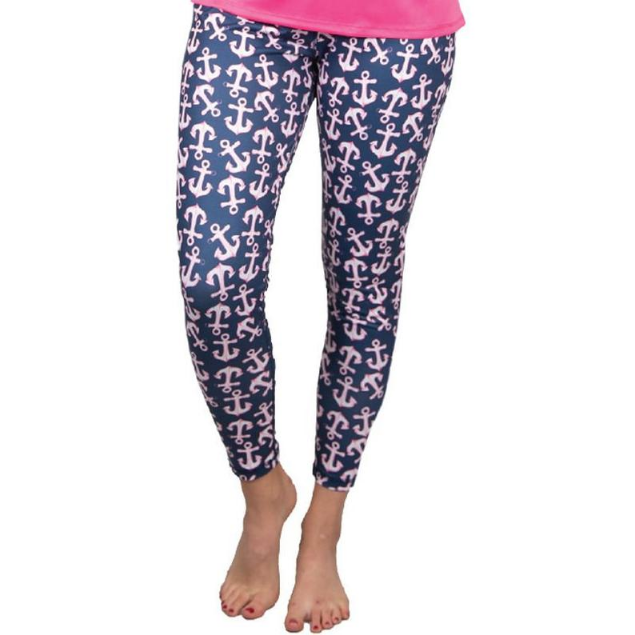 Simply Southern Anchor Yoga Pants
