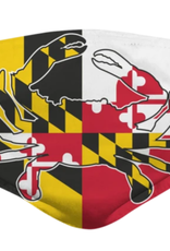 Crab with Maryland Flag / Face Mask