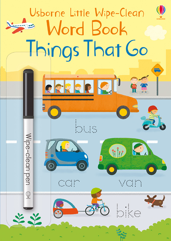 Little Wipe-Clean Word Book Things That Go IR