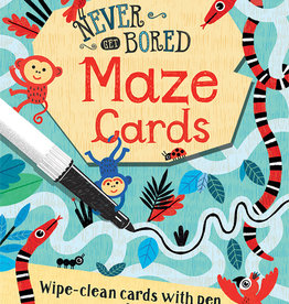 Wipe-Clean Never Get Bored Maze Cards