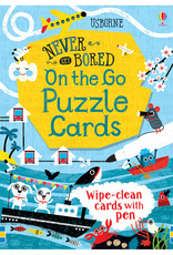 Wipe-Clean Never Get Bored on the Go Puzzle Cards