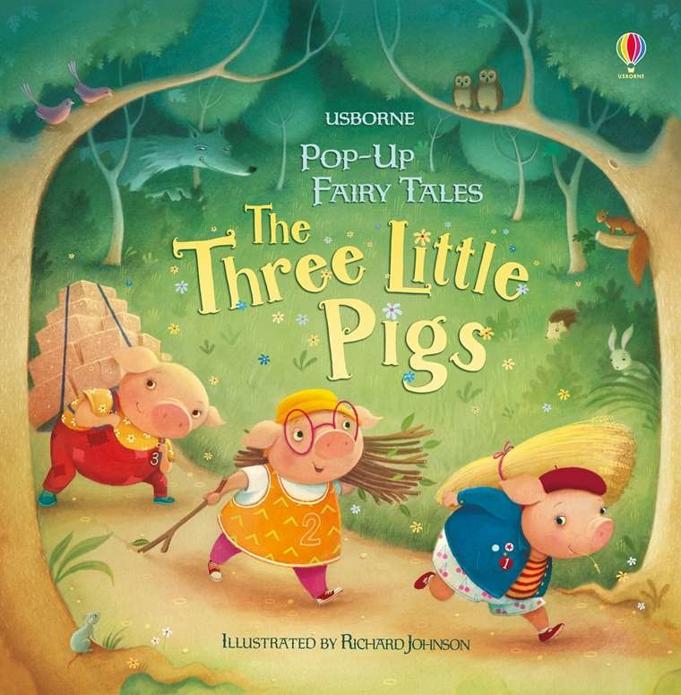 Pop-Up Fairy Tales: The Three Little Pigs