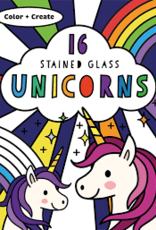 Stained Glass Color Unicorns