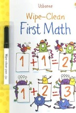 Wipe-Clean First Math ES