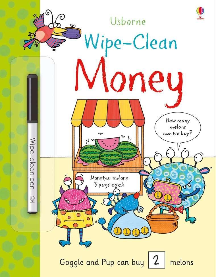 Wipe-Clean Money ES