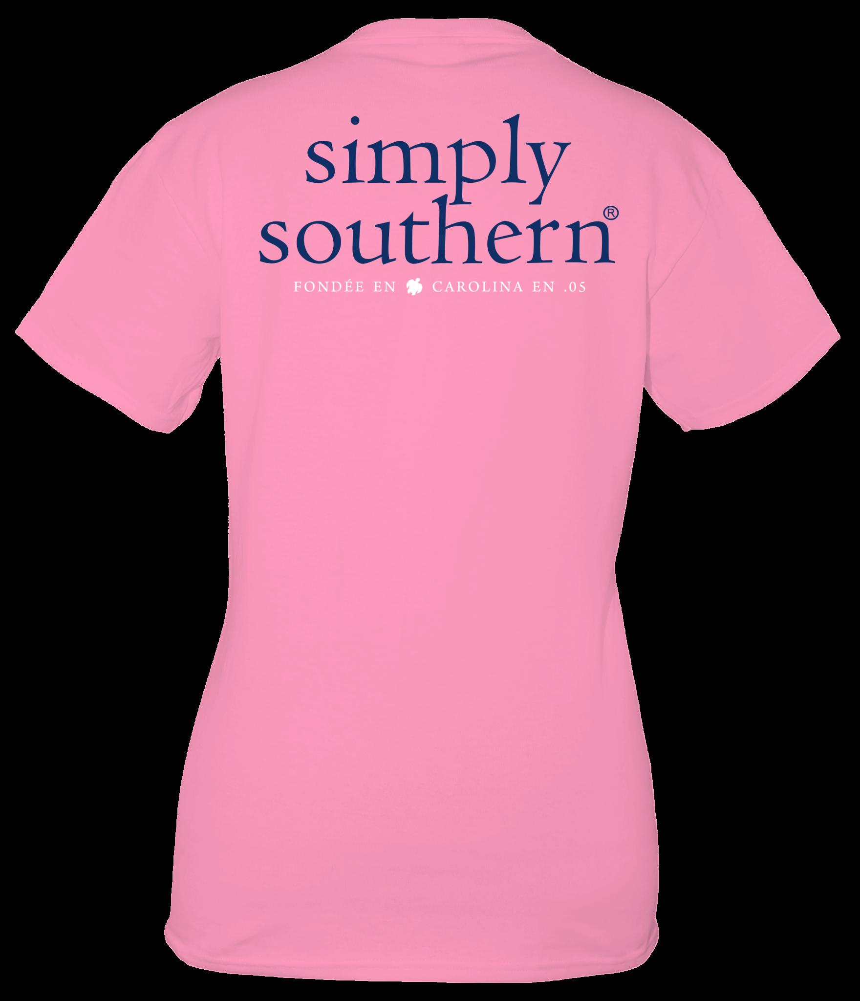 Simply Southern Simply Southern Basic Logo Flamingo