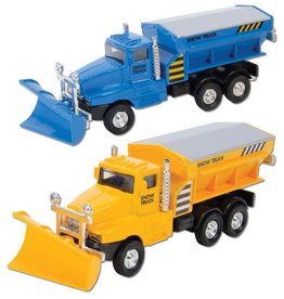 DIE CAST SNOW TRUCK