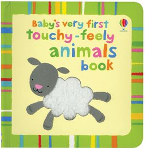 Baby's First Touchy Feely Animals Book