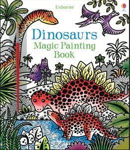 Magic Painting Book Dinosaurs