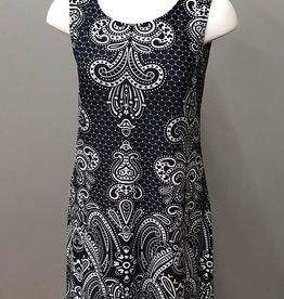 SOUTHERN LADY Sleeveless Traviata Print Dress - Petite