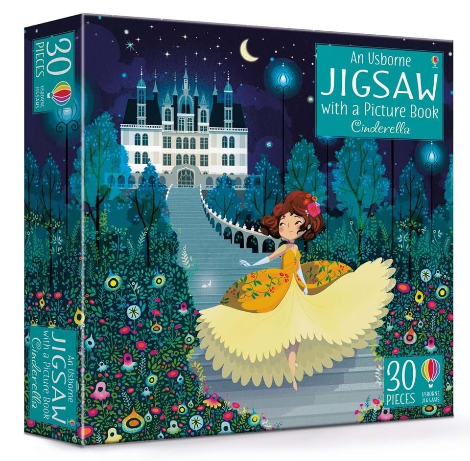 Cinderella Book & Jigsaw Puzzle