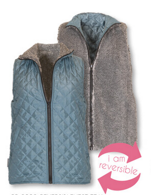 Simply Southern SS Teal Reversible Vest