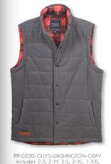 Simply Southern SS Washington Grey Vest