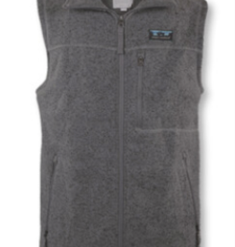 Simply Southern SS Men's Black Knit Vest