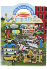 Melissa & Doug Puffy Sticker Play Set- Vehicles