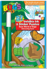 Busy World of Bugs Invisible Ink & Sticker Book