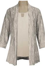 N TOUCH 3/4 Sleeve Colbie Jacket, Sweet Cream