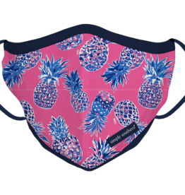 Simply Southern SS Adult Pineapple Mask
