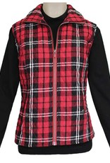 SOUTHERN LADY Windsor Quilted Plaid Vest