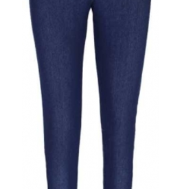 Dark Denim Knit Denim Legging