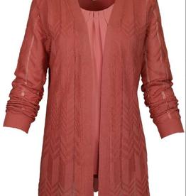 SOUTHERN LADY Sahara Blush Long Sleeve Open Cardigan