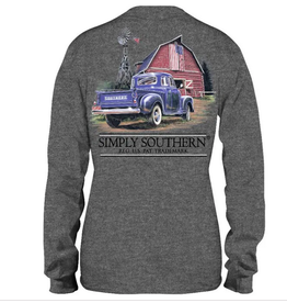 Simply Southern SS Longsleeve Country Living