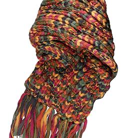 Broner Hats Chunky Knit Acrylic Scarf, Multicolor