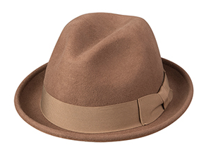 Broner Hats 73-792, Conversation Piece Hat, Pecan